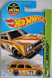 datsun wagon hot wheel - HOT WHEELS HW WORKSHOP YELLOW '71 DATSUN BLUEBIRD 510 WAGON JOIN TEAM HOT WHEELS CARD 202/250