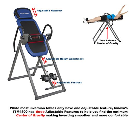 Innova ITM4800 Advanced Heat and Massage Therapeutic Inversion Table by Innova Health and Fitness (Image #3)