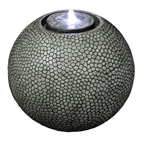 Ball Outdoor Fountain - Pebble Sphere 19