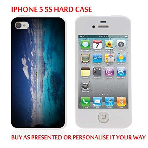 Gc61_iph55s iPhone 5 5S Coque Housse pour tablette Motif mer et insulaires personnaliser votre texte personnalisé produits fabriqués et vendus Par ThatVinylPlace