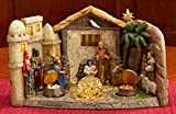 Three Kings Gifts Panorama Nativity