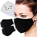 Facial Protection Filtration 95%, Anti-Fog, Dust-Proof With activated carbon filter Adjustable Headgear Nose wire Full…