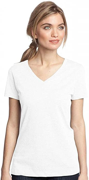 85a5de73ee8 District Made Ladies Perfect Weight V-Neck Tee Shirt