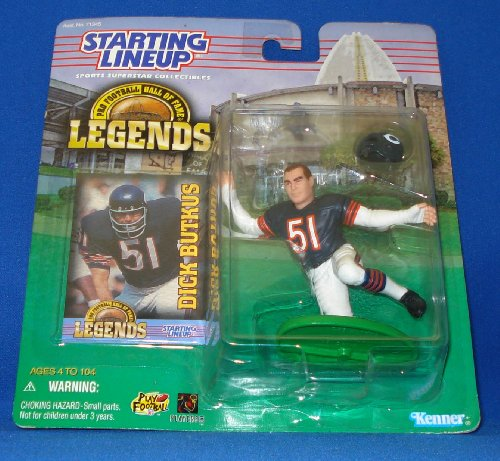 (Starting Lineup Pro Football Hall Of Fame Dick Butkus 4.5 Inch Figure [Toy])