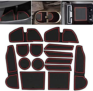 Sweepstakes: Jaronx 14PCS Center Console Cup Holder Liner for...