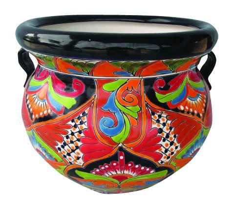 TALAVERA PLANTER (LARGE) by Talavera Pottery Store
