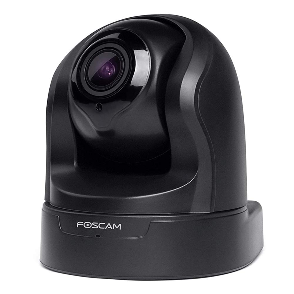 Foscam Z2 1080P Baby Monitor, Pan&Tilt 2.4/5Ghz Dual Band WiFi IP Security Camera with 4X Optical Zoom, Home Surveillance Camera Pet Cam with Motion/Sound Detection,Night Vision, Free Cloud,Black by FOSCAM