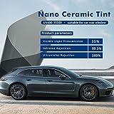 HOHO 35% VLT Car Window Tint Film UV Proof 100% Sun Block Privacy Auto Glass Sticker,100cmx1000cm