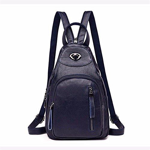 BMKWSG Fashion PU Shoulder Handbags Bags Women Simple Messenger Leather Bags Tote blue Women Handbags g4fpw4