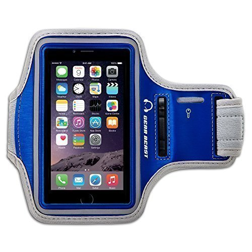 Gear Beast Sport Gym Running Armband with Key Holder and ...