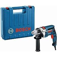 Bosch Professional GSB 16 RE - Taladro percutor (750 W, 0 – 2800 rpm, Ø max perforación…