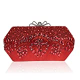 Bagood Women's Acrylic Beaded And Sequined Evening Bag Wedding Party Handbag Clutch Purse