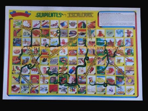 Serpientes Y Escaleras Don Clemente Authentic Mexican Game