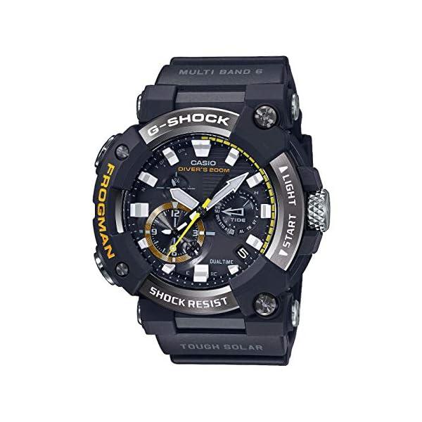 Casio G-Shock Frogman 2020 - Reloj analógico de cuarzo resistente a los golpes con Bluetooth, recepción de señal de… 2