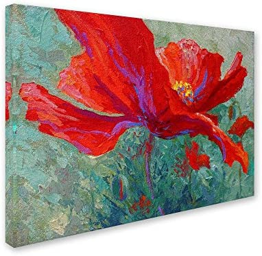 Red Poppy 1 Canvas Wall Art