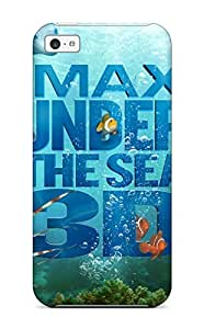 Hot Tpu Cover Case For Iphone/ 5c Case Cover Skin - Imax Under The Sea (4)