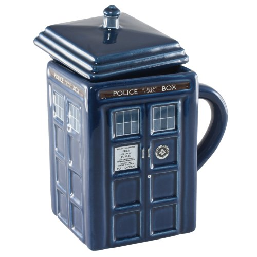 Doctor Who 17 oz. Figural Tardis Mug, Appliances for Home