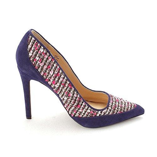Navy Closed ShoeDazzle pink Toe Pumps Classic Womens Cobi wBaaYxPq