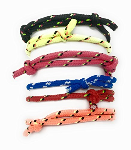 Sea View Treasures 72 Bulk Braided Friendship Bracelet 6 Color Assortment