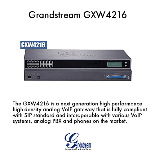 16 Port FXS Gateway by Grandstream