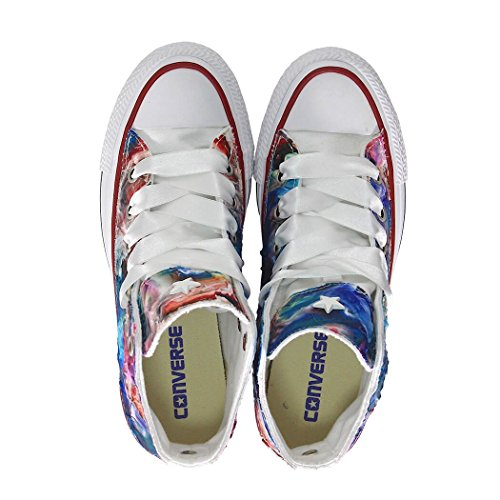 CONVERSE LIMITED ED DAMEN ALL STAR HIGH CANVAS MEHRFARBIGE SNEAKERS