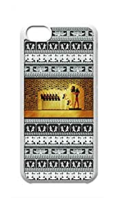 Custom iPhone 5C Case , Wall Painting Of Ancient Egypt Painting Hard Plastic Protective Cases Cover by Foreverway --601