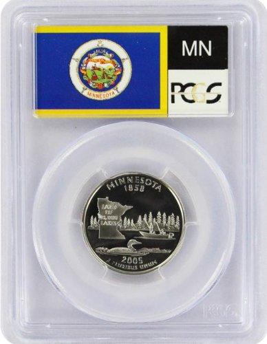 2005 Minnesota State S Clad Proof Quarter PR-69 PCGS