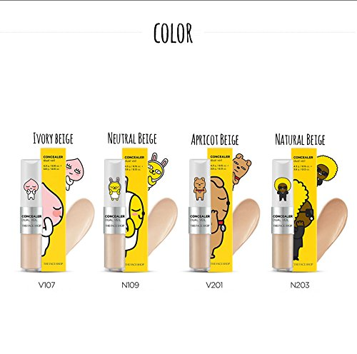 [The Face Shop] Concealer Dual Veil 4.3g*3.8g에 대한 이미지 검색결과