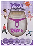 Tzapp!! Electric Lice Comb Ep-400-04 Chemical Free - Treatment for Kids Head Lice - Removes Lice and Eggs