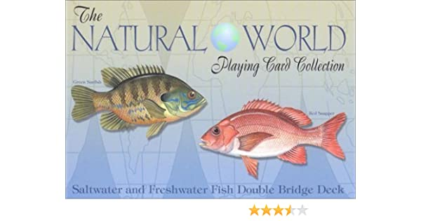 Freshwater Fish of the Natural World Playing Cards
