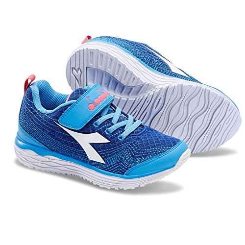 Diadora Flamingo Jr, Zapatillas de Running Para Niños C3864 ROYAL/AZZURRO