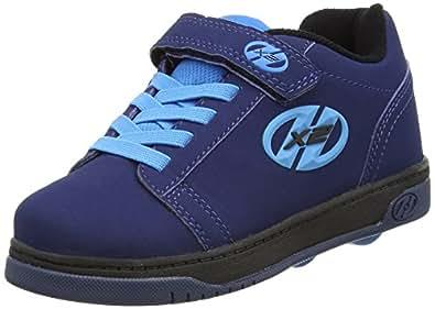 Heelys X2 Dual Up Zapatillas, Niños, Azul (Navy /  New Blue), 30 EU (12 UK)