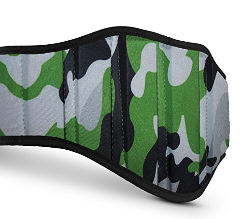 Weight Lifting Belts (Camouflage Green, Medium)