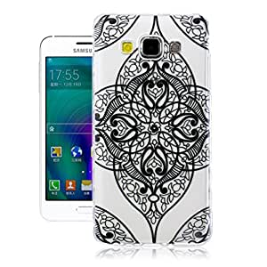 Para Galaxy A5 funda , ivencase Silicona Carcasa Tribal Ultra Delgado Claro TPU Transparente Trasero Piel Fit Samsung Galaxy A5 SM-A500F