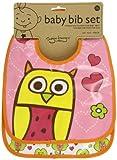 Baby : Sugarbooger Mini Bib Gift Set, Hoot, 2 Count