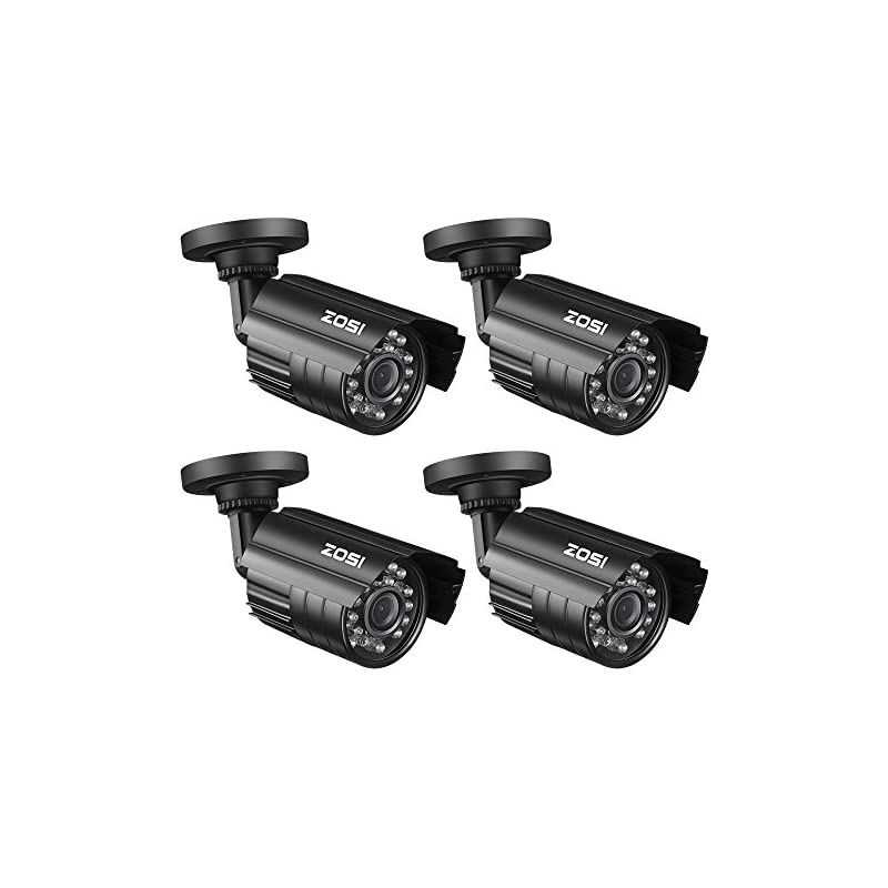 ZOSI 4 Pack Bullet Fake Security Camera