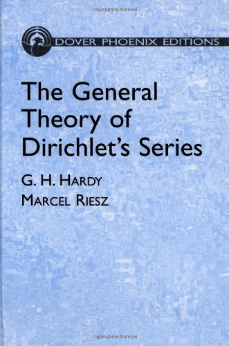 Download The General Theory of Dirichlet's Series (Dover Books on Mathematics) ebook