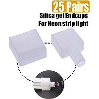 Neon strip end cap seal impermeable y resistente