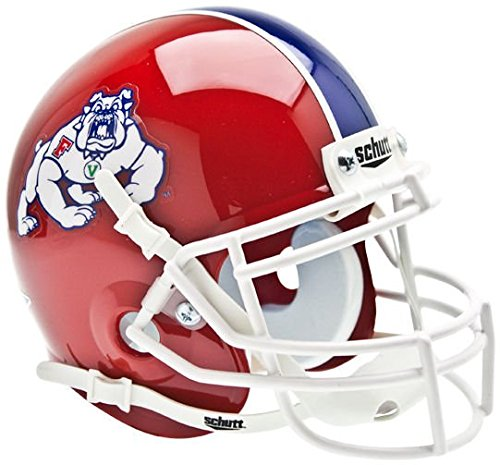 NCAA Fresno State Bulldogs Collectible Mini (Bulldog Helmet)