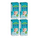 Mylicon Infants' Dye Free Gas Relief 100 Doses, 1 Fl Oz - 4 Boxes