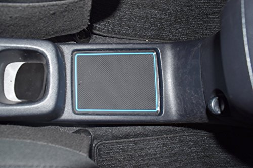 KINMEI Toyota Ractis Ractis P120 system specially designed blue interior door pocket mat drink holder slip non-slip storage space protection rubber mats TOYOTAk-41 by KINMEI (Image #3)