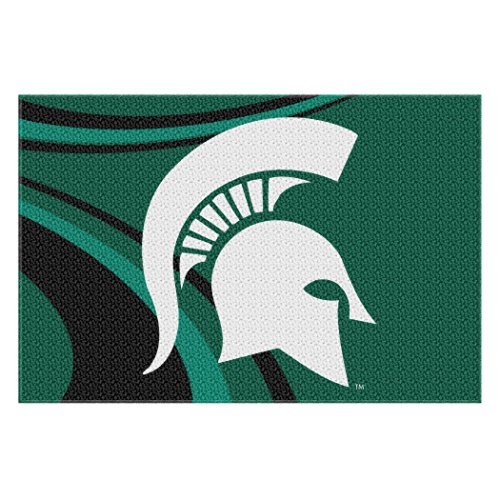 The Northwest Company NCAA Michigan State Spartans Cosmic Tufted Rug, 39