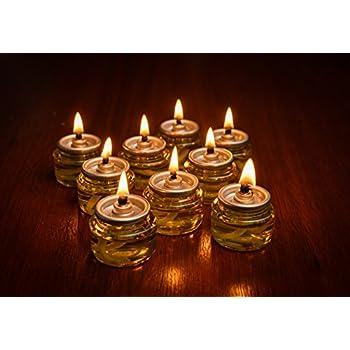 Pre-Filled Menorah 100% Olive Cup Candles - Hanukkah Lights - NO SPIL NO  sc 1 st  Amazon.com & Amazon.com: Pre-Filled Menorah Oil Cup Candles - Hanukkah Ohr ... azcodes.com