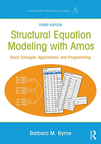 Structural Equation Modeling With AMOS  Basic Concepts Applications And Programming Third Edition  Multivariate Applications Series   English Edition