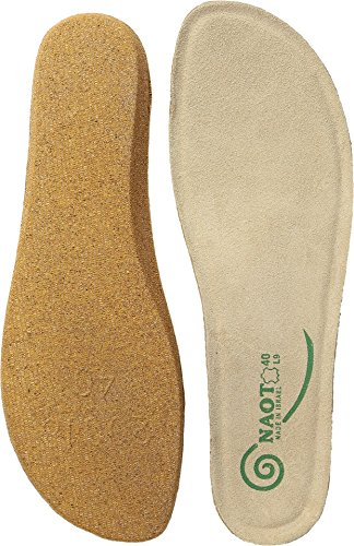 (Naot Footwear FB19-Koru Replacement Footbed, Natural, 39 (US Women's 8) M)