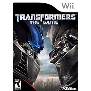 Transformers the Game - Nintendo Wii