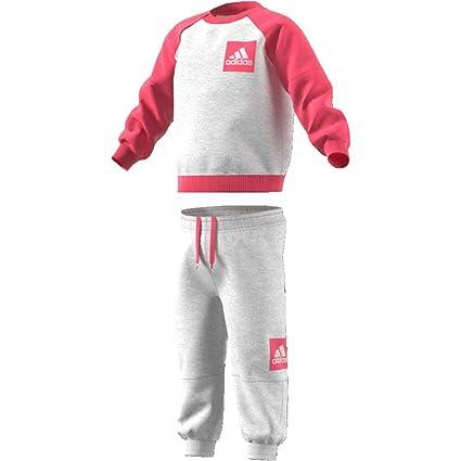 adidas Kinder Fleece Jogginganzug Trainingsanzug
