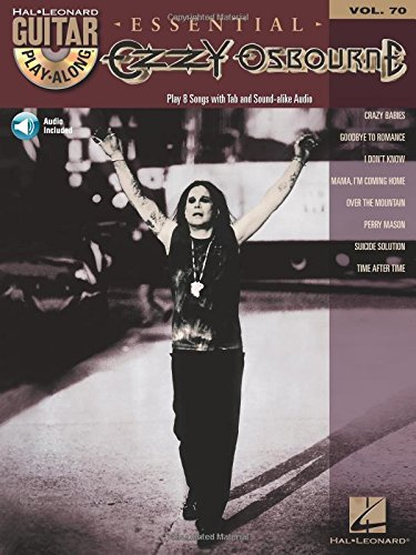 Ozzy Osbourne: Guitar Play-Along Volume 70 (Hal Leonard Guitar - Electric Leonard Sheet Music Hal