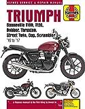 Triumph Bonneville, T100, T120, Bobber, Thruxton, Street Twin, Cup, Scrambler Service & Repair Manual (2016 to 2017)