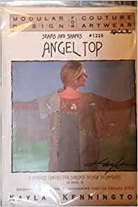 Angela Top Seams And Shapes Pattern 1226 Kayla Kennington Kayla Kennington Amazon Com Books